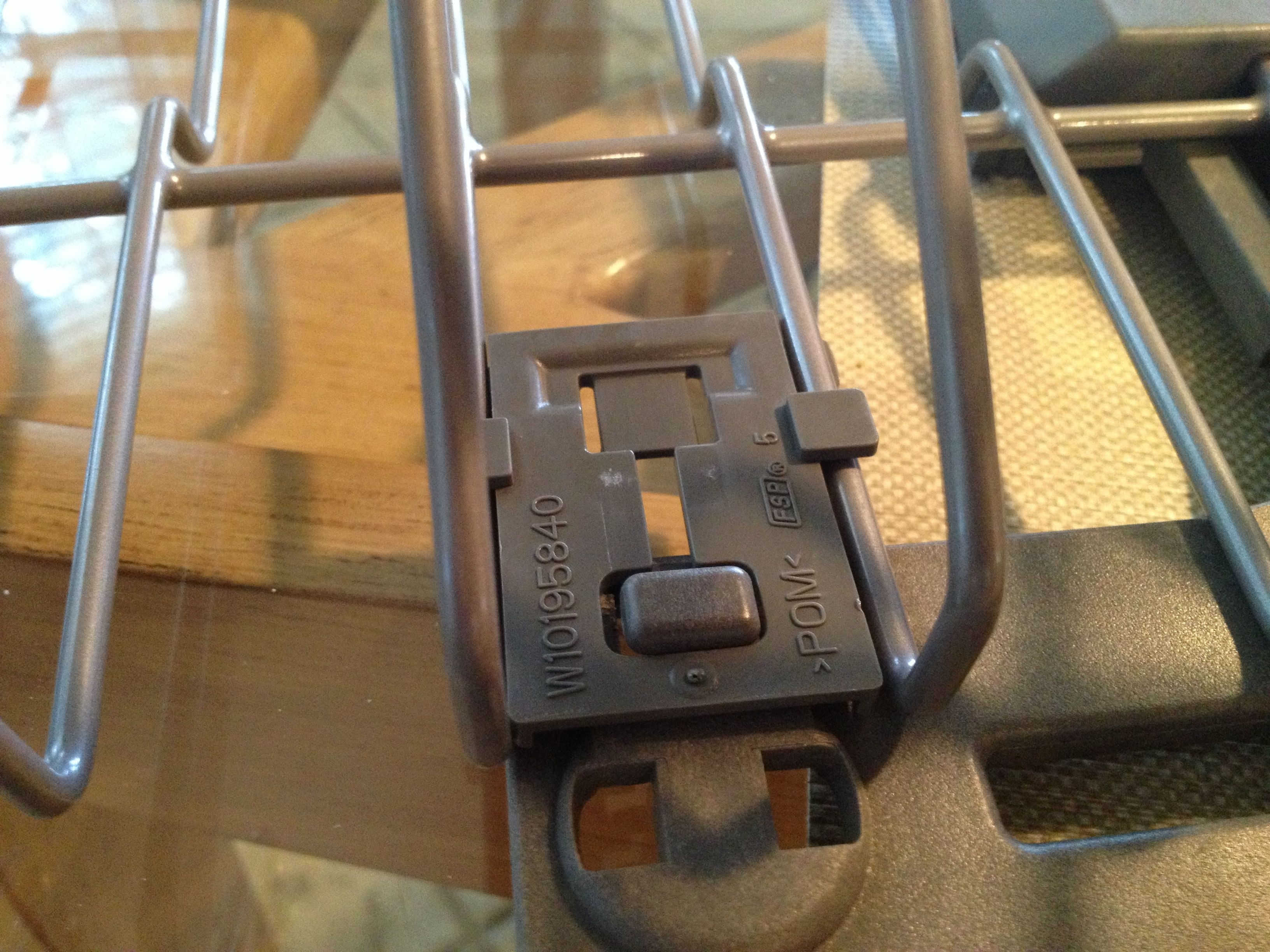 kitchenaid upper rack roller repair a modern polymath
